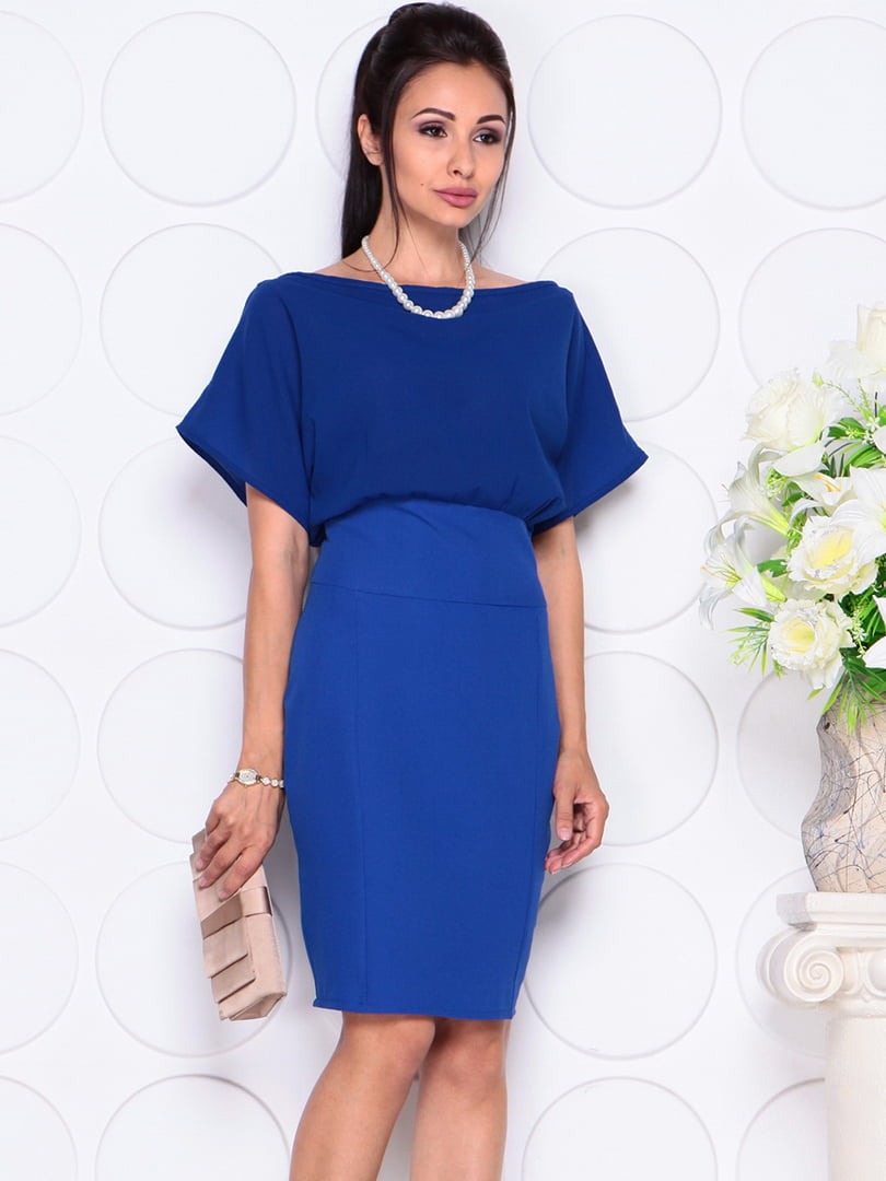 Платье цвета электрик   4354000   фото 3