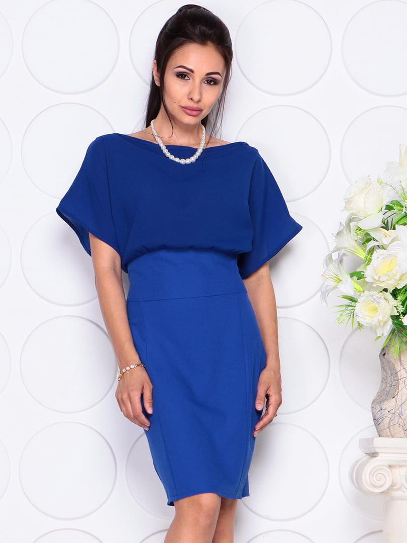 Платье цвета электрик   4354000   фото 4