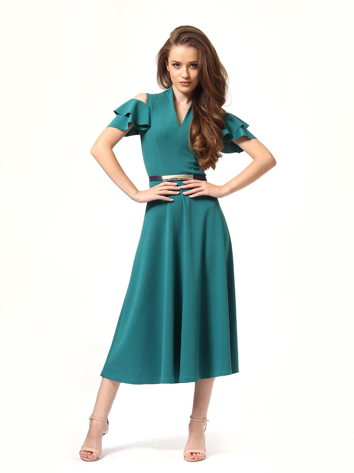 Платье зеленое | 4363450