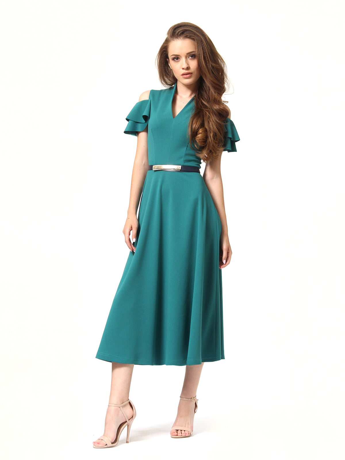 Платье зеленое | 4363450 | фото 2