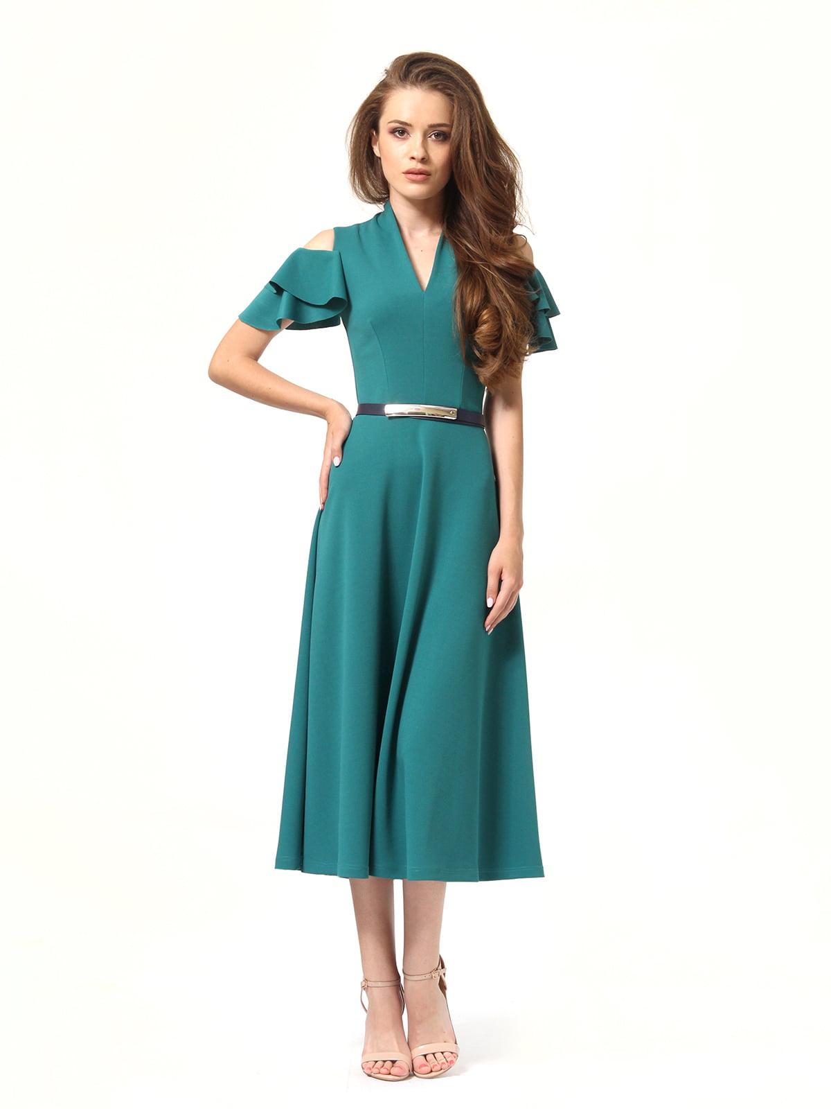 Платье зеленое | 4363450 | фото 3