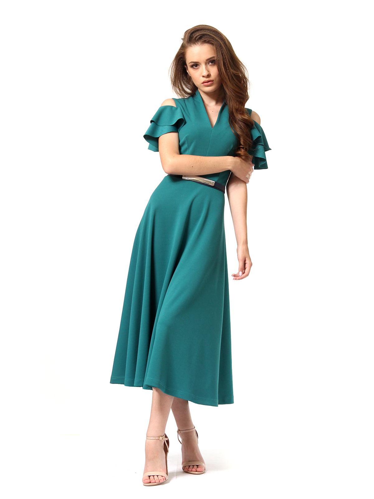 Платье зеленое | 4363450 | фото 5