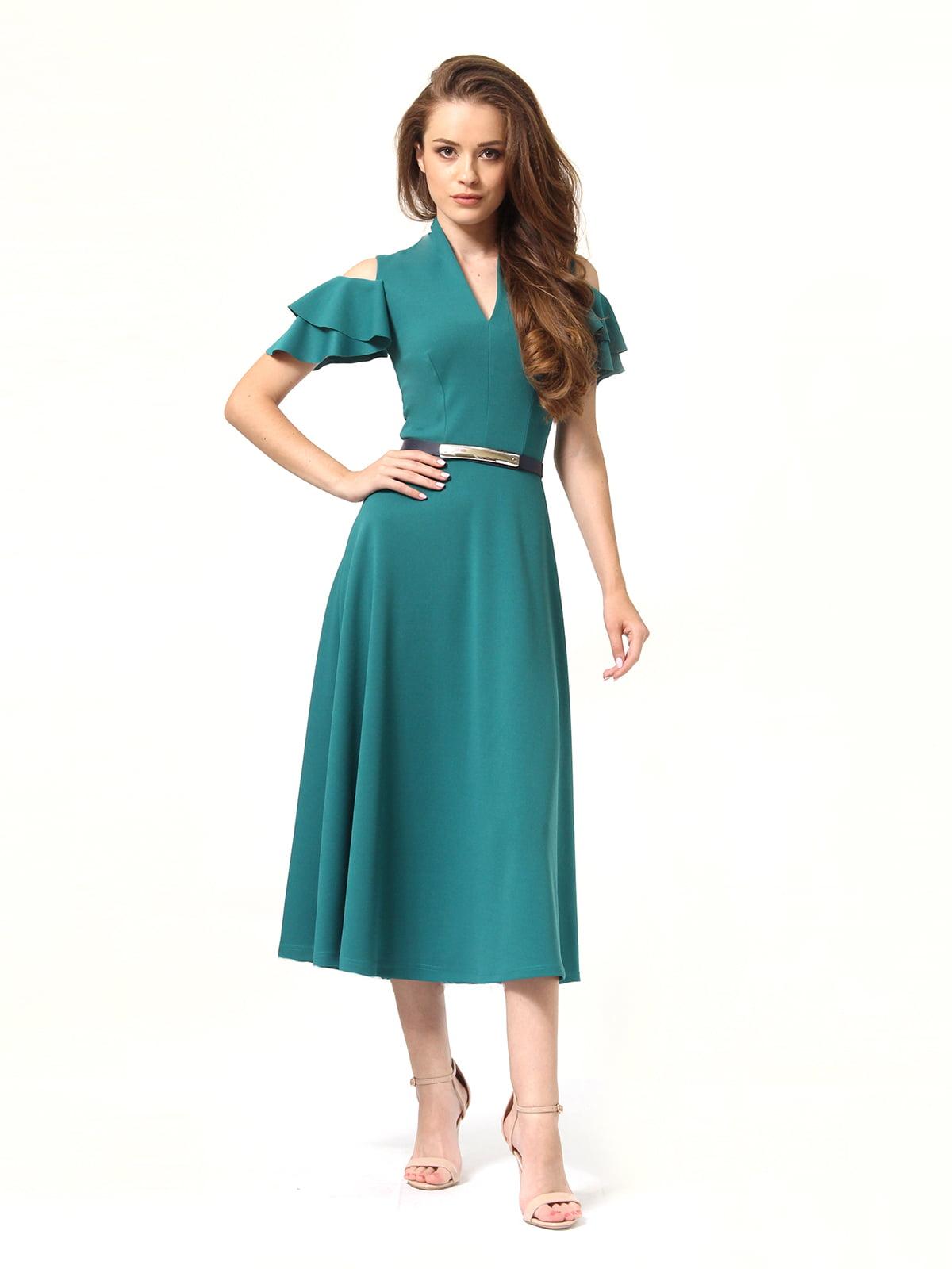 Платье зеленое | 4363450 | фото 6
