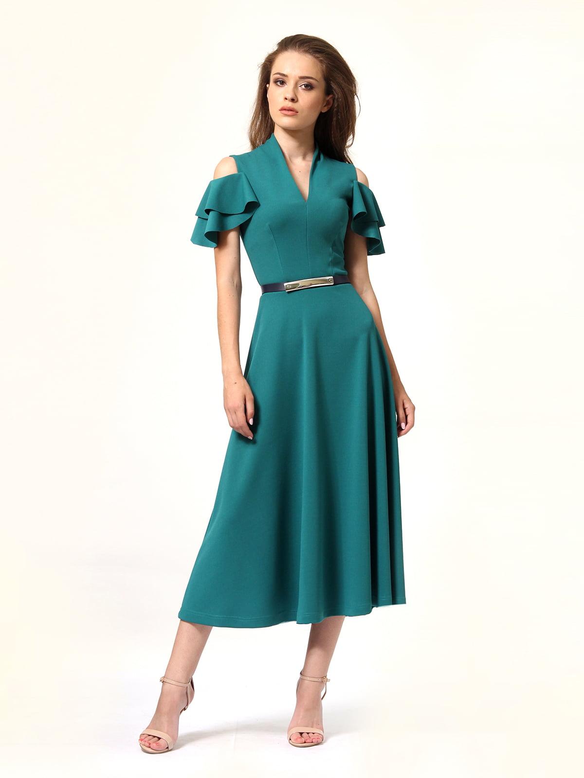 Платье зеленое | 4363450 | фото 7