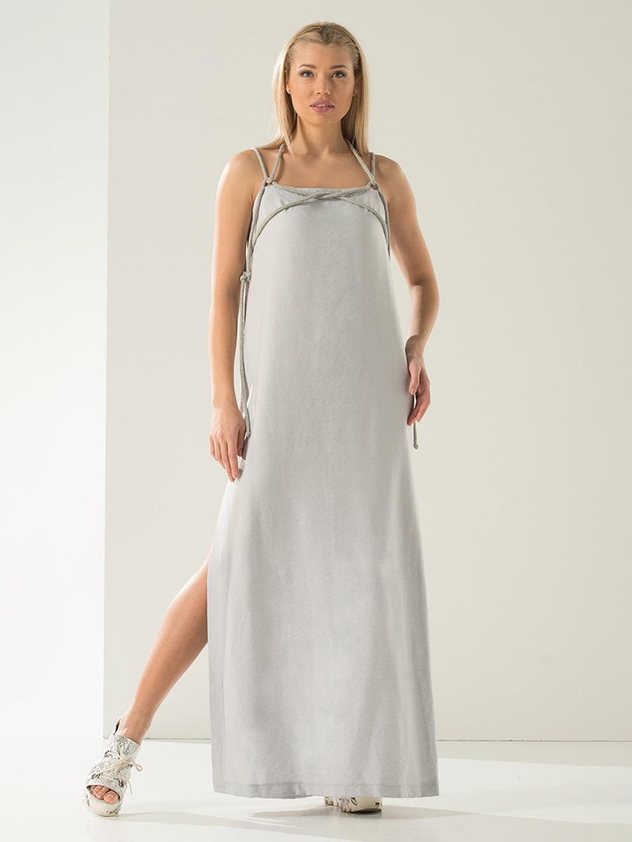 Платье серое | 4341778