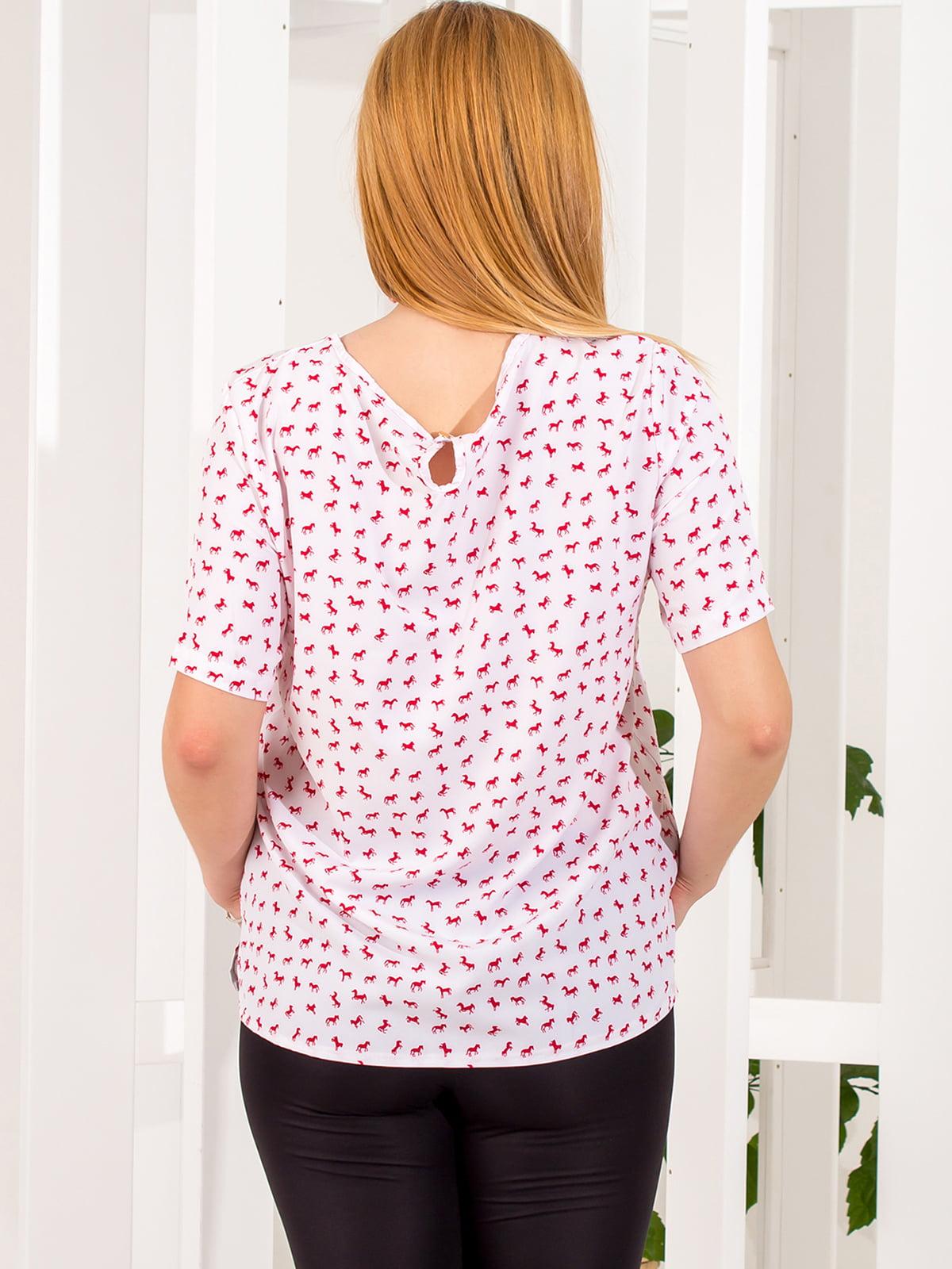 Блуза в принт | 4351833 | фото 3
