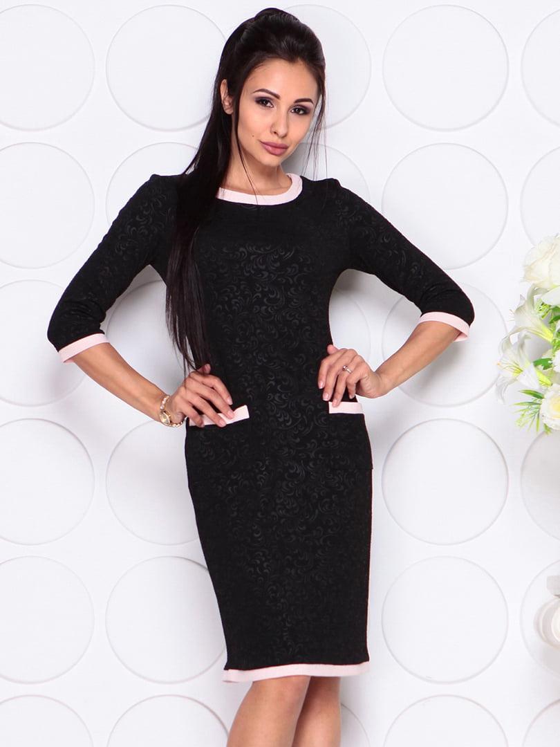Платье черное   4364134   фото 4
