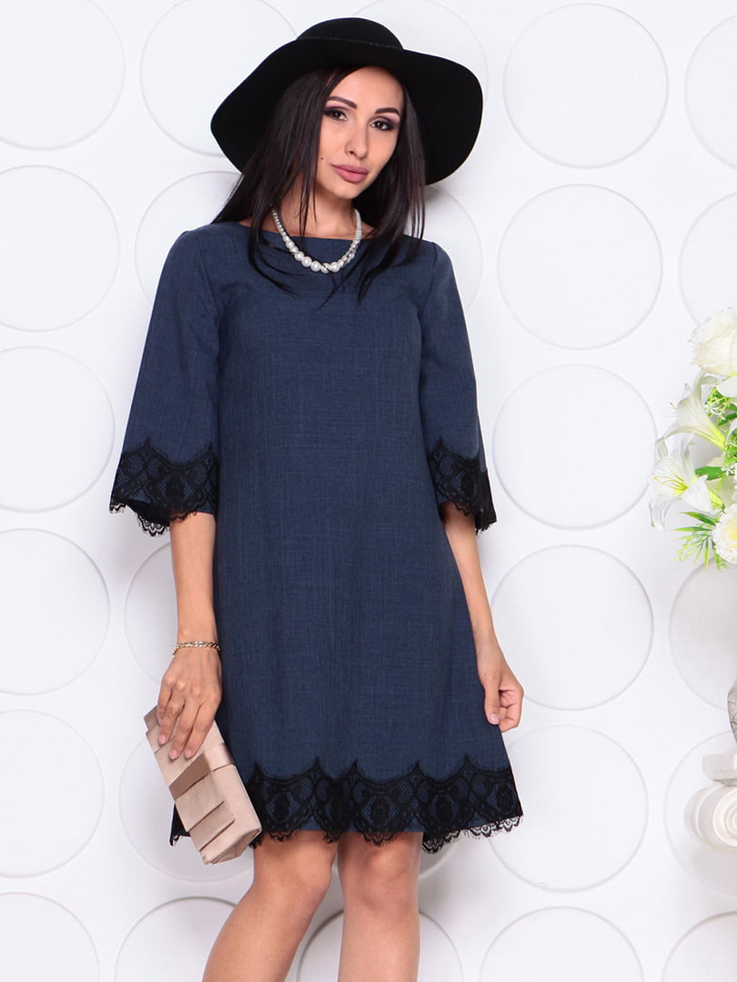 Сукня темно-синя | 4364140