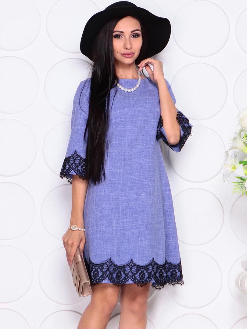 Платье сиреневое | 4364141