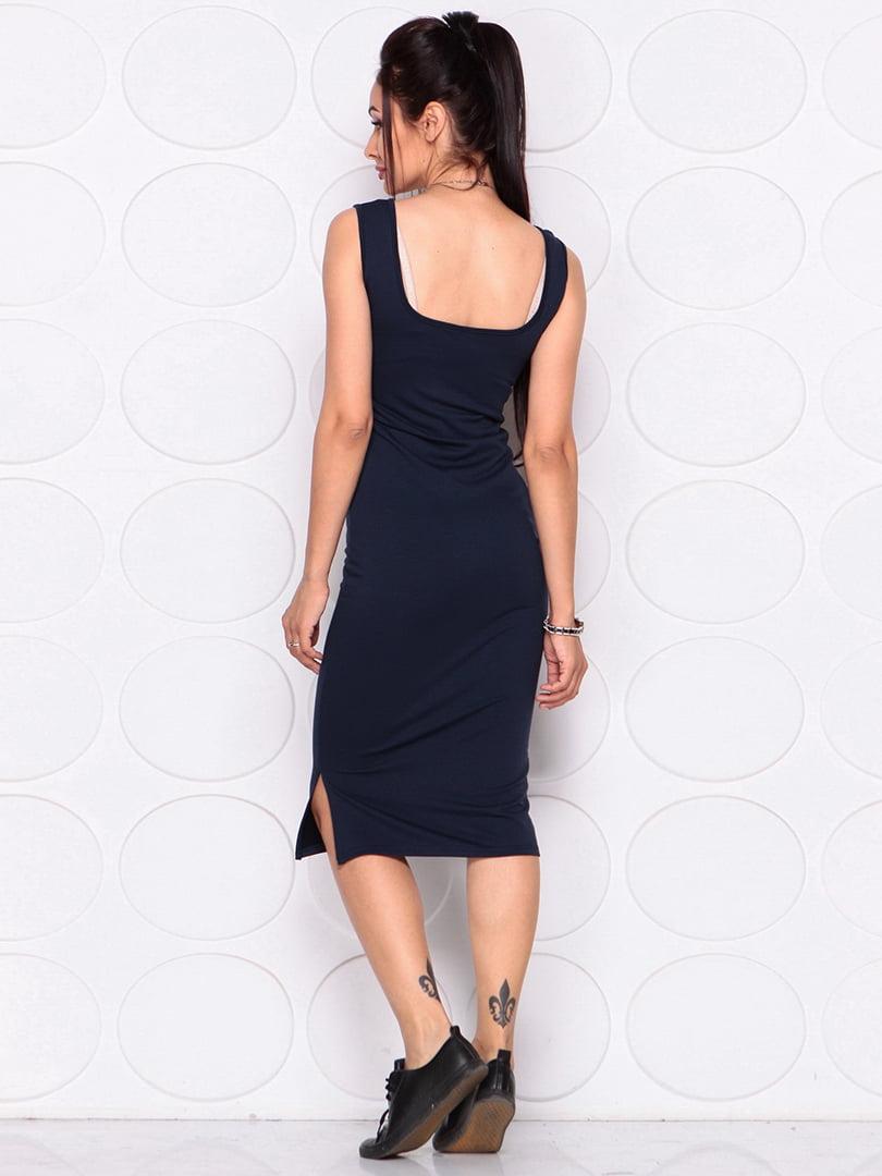 Платье темно-синее | 4364152 | фото 2