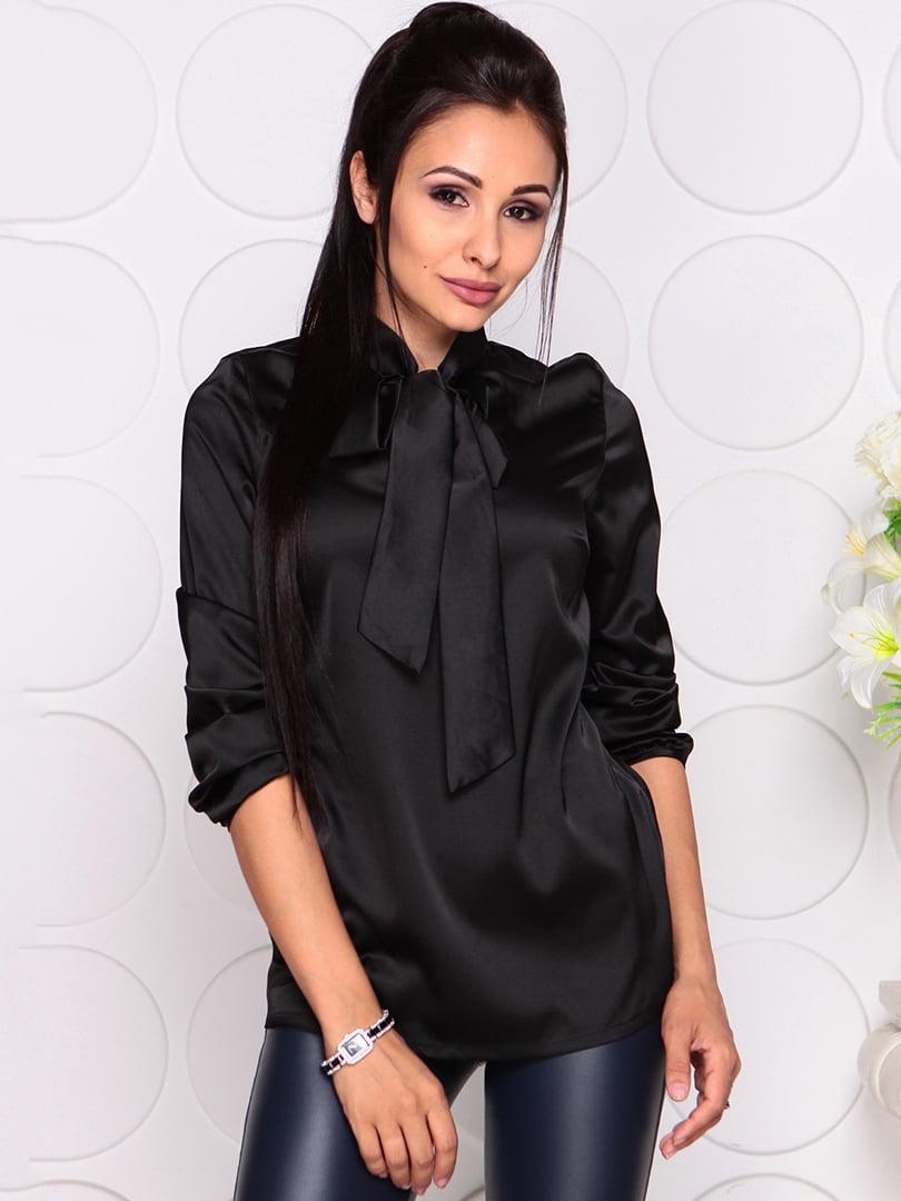 Блуза черная | 4364161