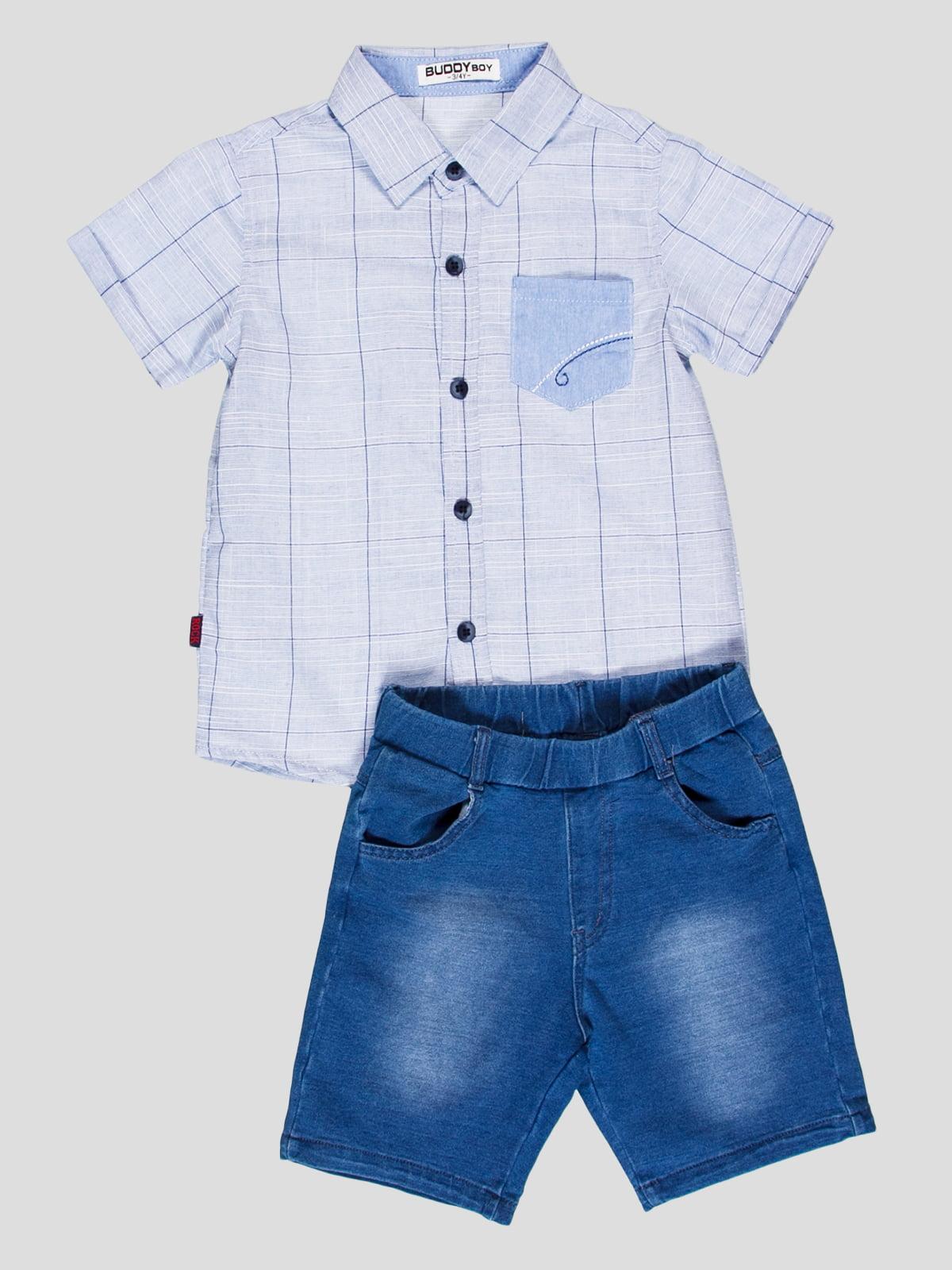 Комплект: сорочка і шорти | 4349795