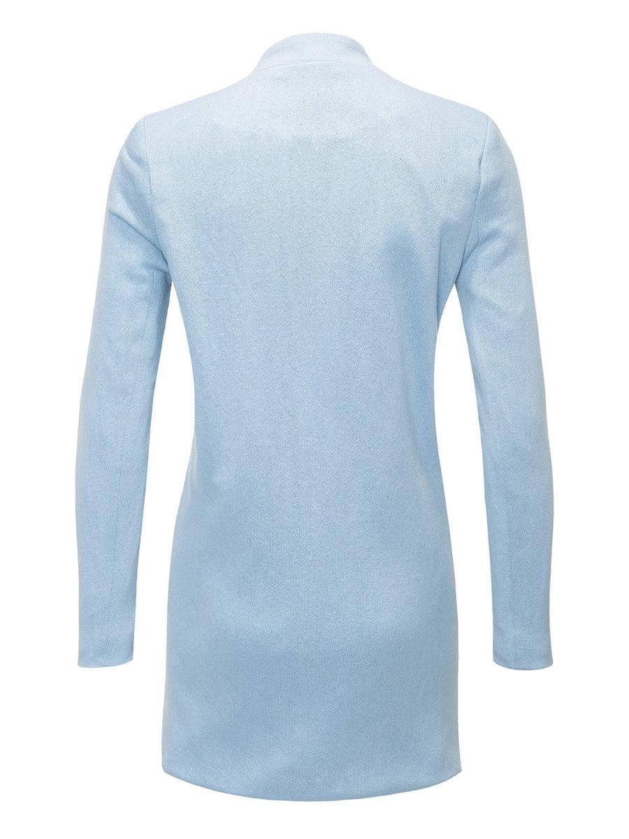 Пальто светло-голубое | 4368239 | фото 2
