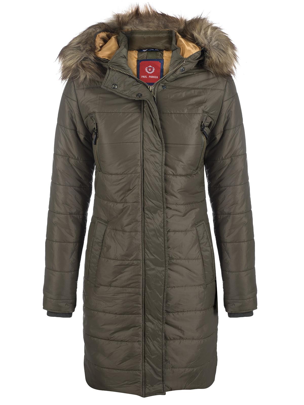 Пальто цвета хаки | 3797413