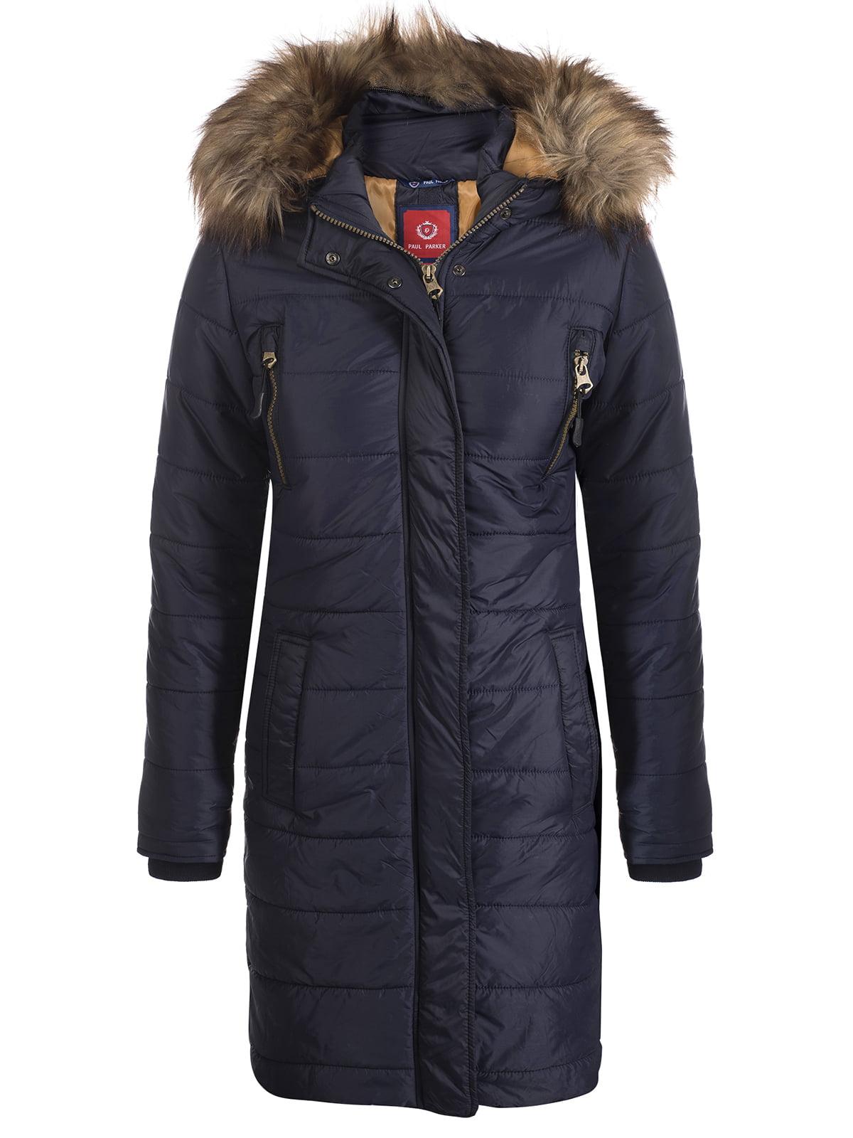 Пальто темно-синее | 3797411