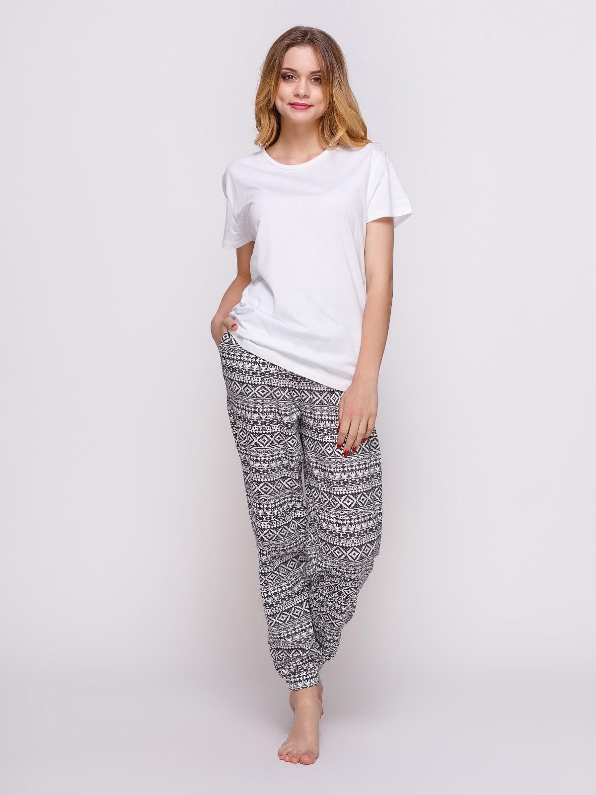 Пижама: футболка и штаны (2 шт.) | 4358937
