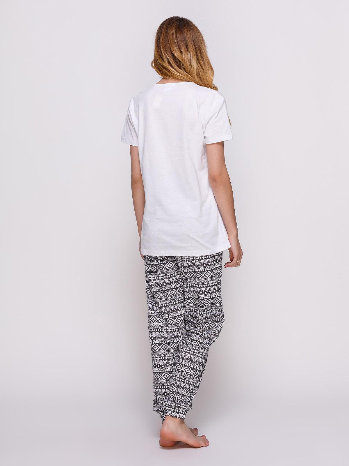 Пижама: футболка и штаны (2 шт.) | 4358937 | фото 2
