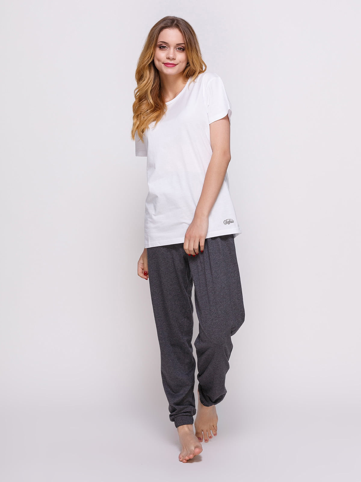 Пижама: футболка и штаны (2 шт.) | 4358937 | фото 4