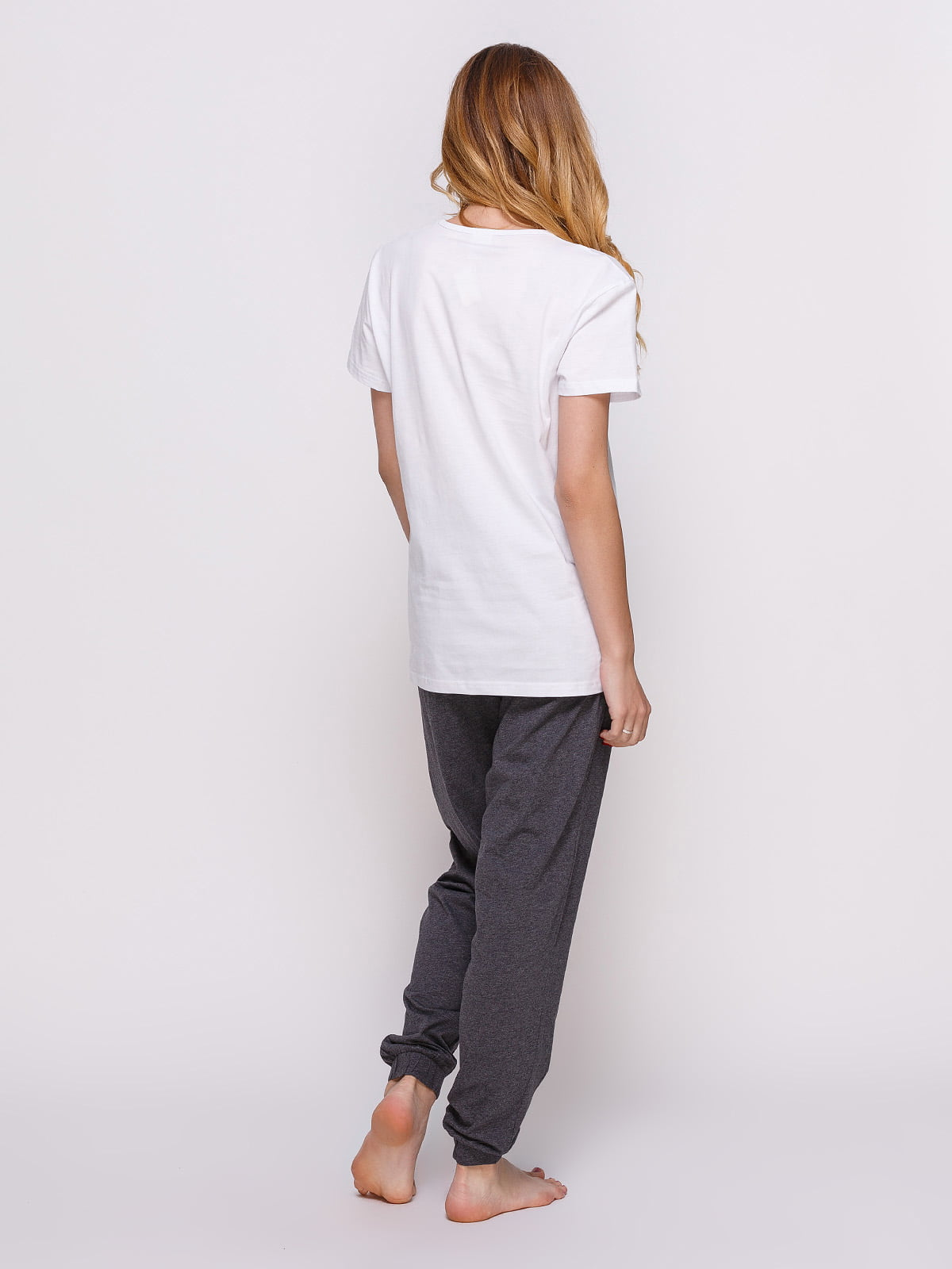 Пижама: футболка и штаны (2 шт.) | 4358937 | фото 5