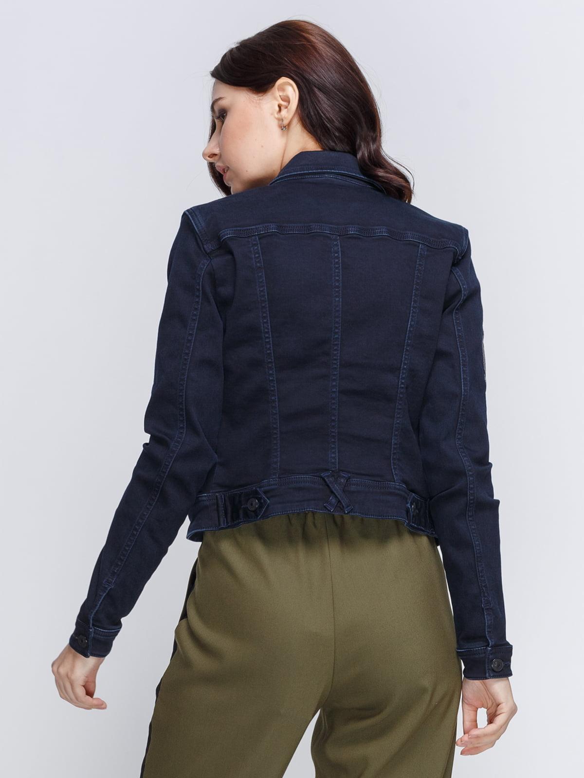 Куртка темно-синяя | 4347906 | фото 2