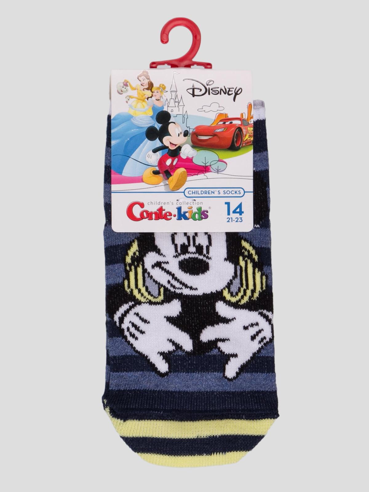 Шкарпетки в смужку з малюнком | 4366803