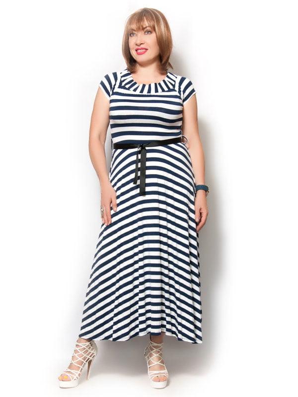 Платье в полоску   4374511