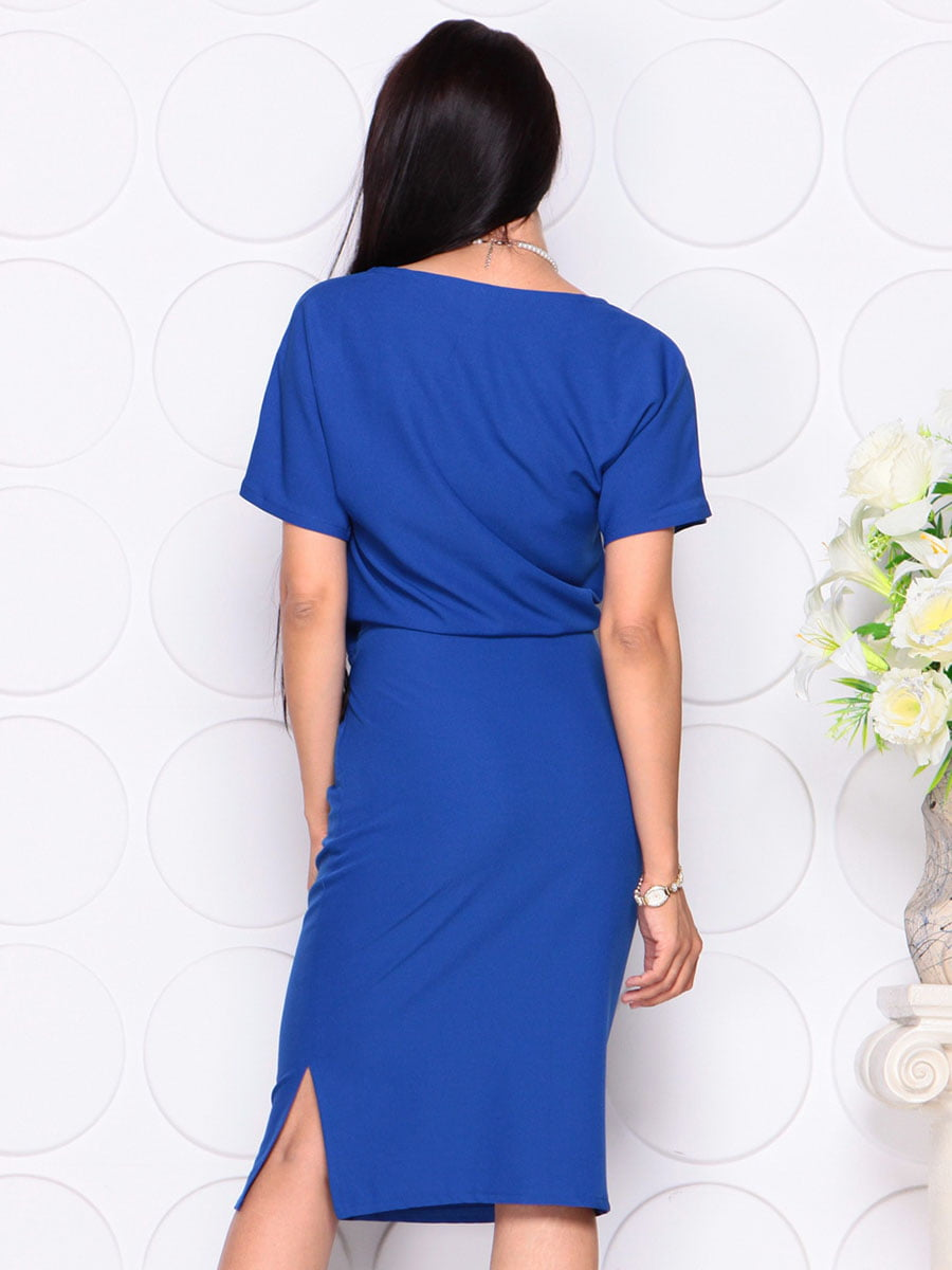Платье цвета электрик | 4373734 | фото 2