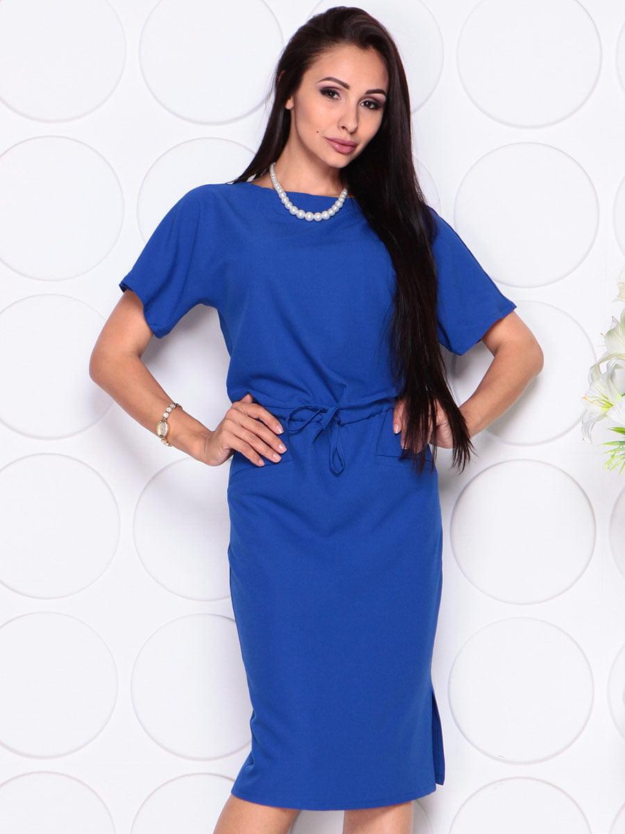 Платье цвета электрик | 4373734 | фото 4