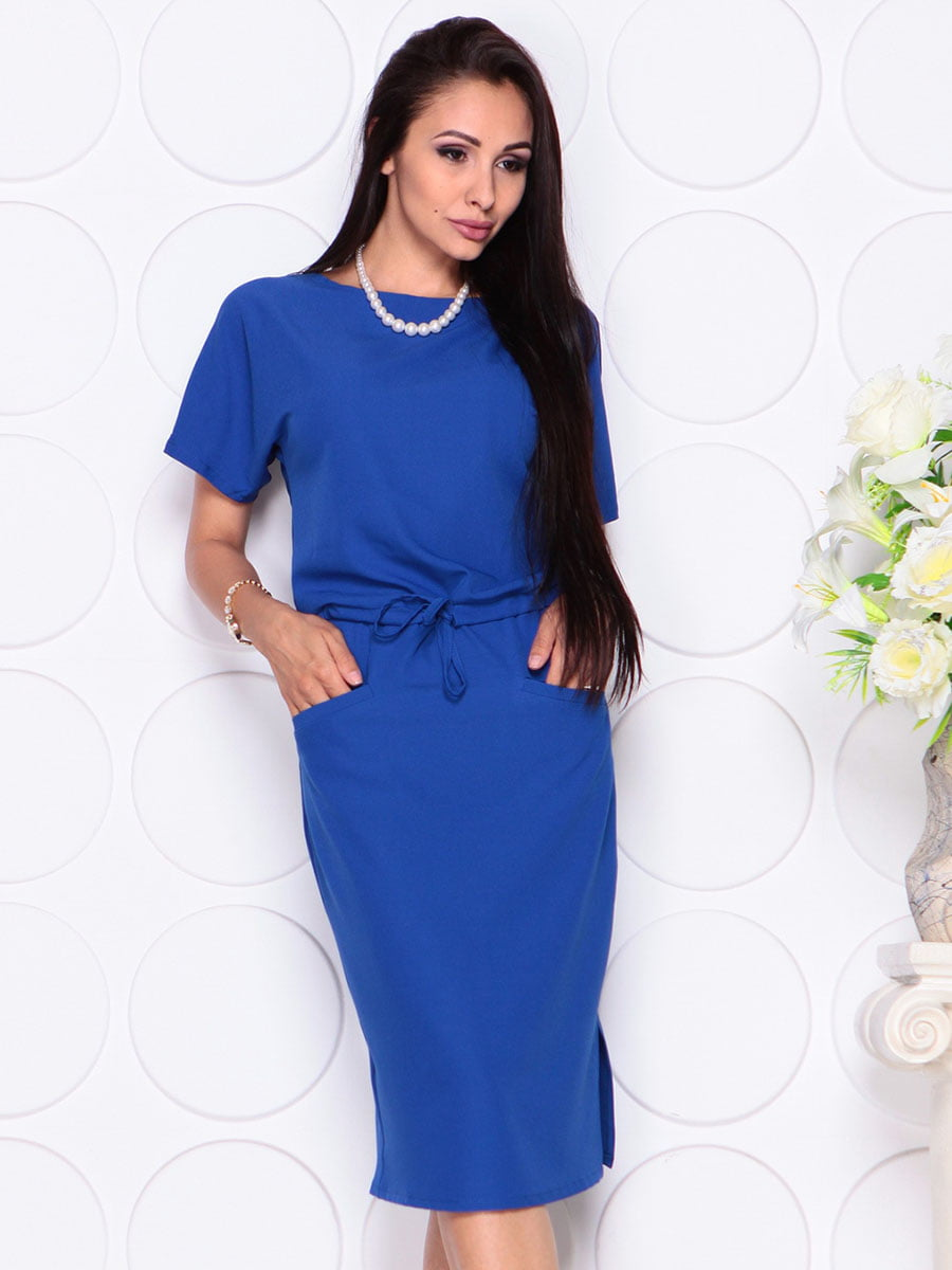 Платье цвета электрик | 4373734 | фото 5