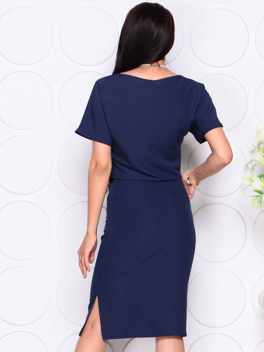 Платье темно-синее | 4373738 | фото 2