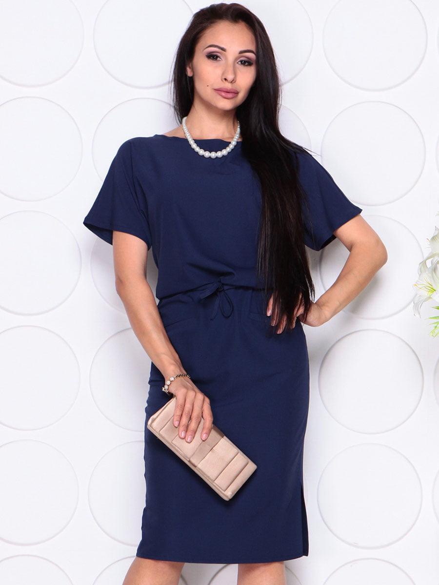 Платье темно-синее | 4373738 | фото 3