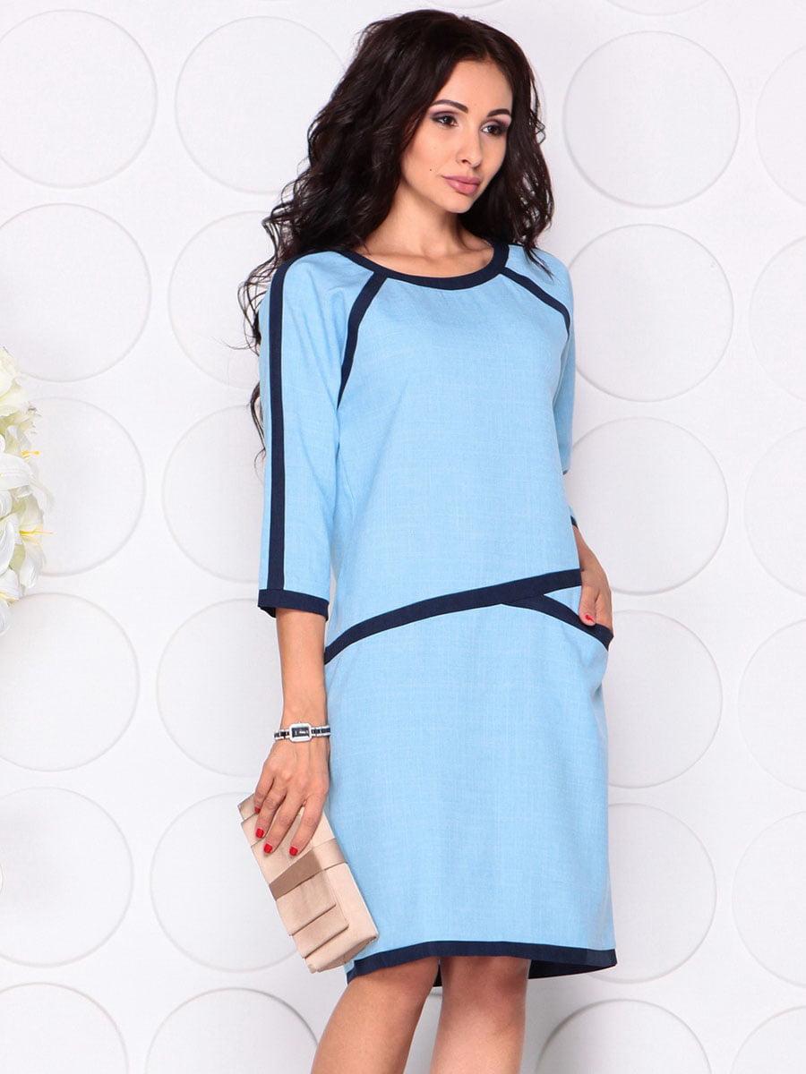 Сукня блакитна   4373740