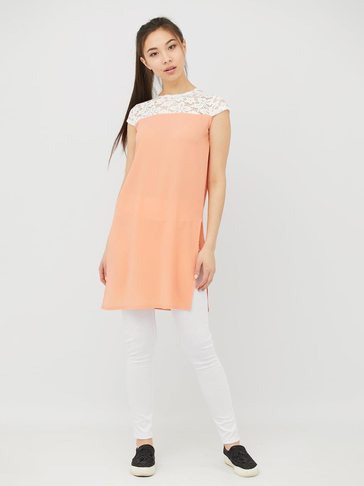 Туніка персикового кольору   4381603