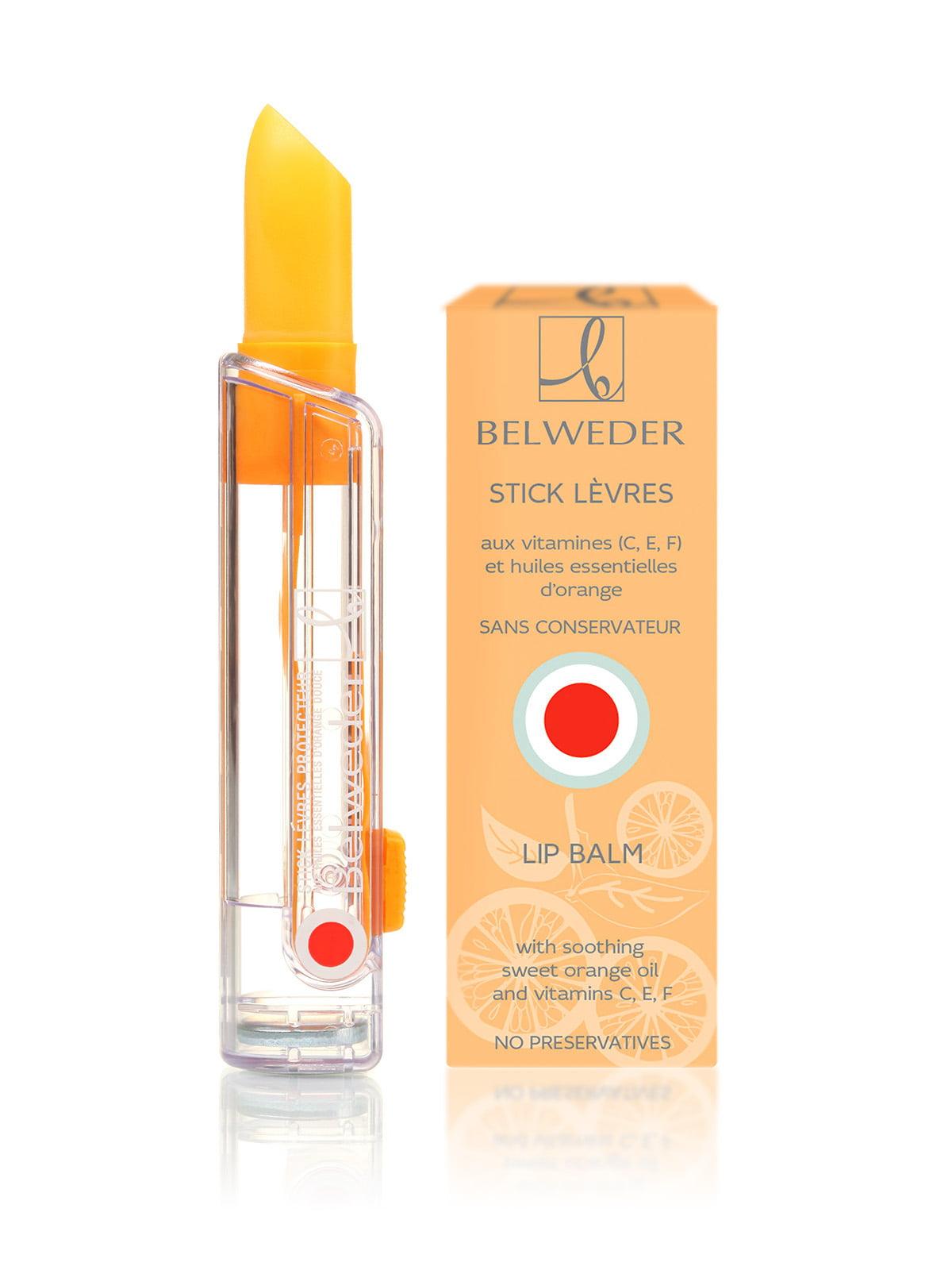 Бальзам для губ з маслом солодкого апельсину 6 + (3,5 г) | 4382105