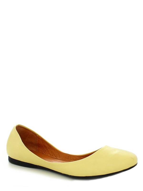 Балетки желтые | 4382214 | фото 2