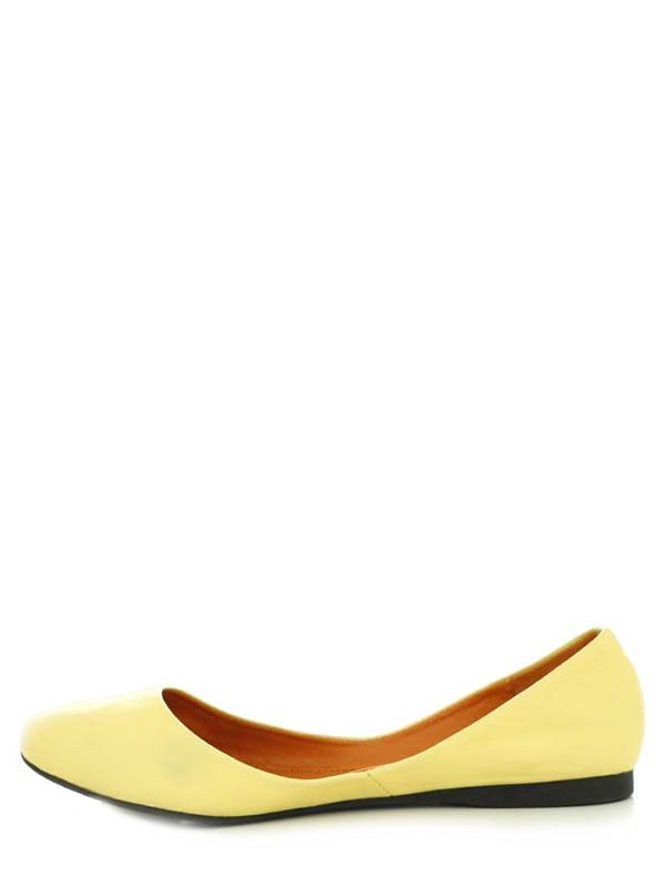 Балетки желтые | 4382214 | фото 3