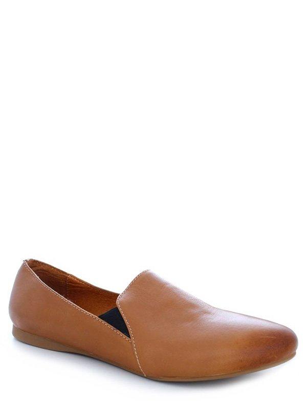 Туфли коричневые   4382231