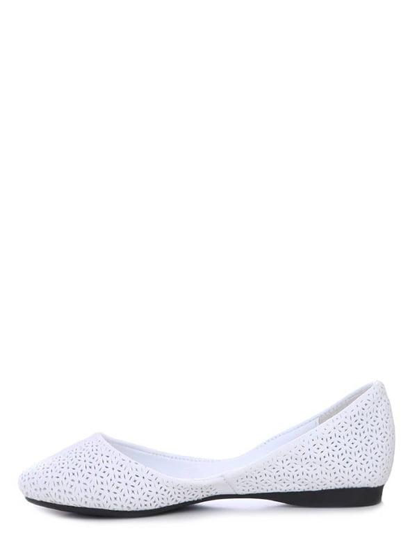 Балетки белые | 4382241 | фото 3