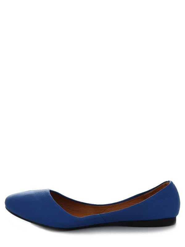 Балетки синие | 4382243