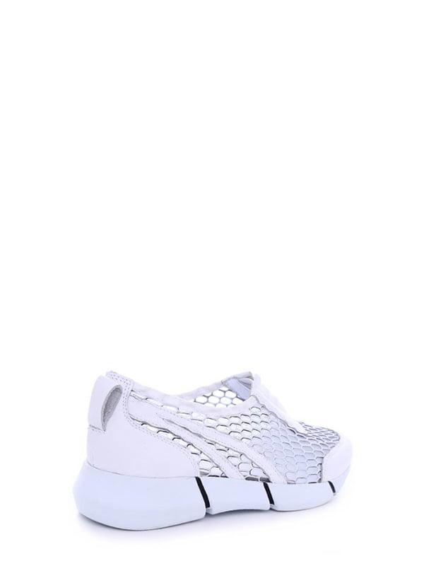 Кроссовки белые | 4382290 | фото 3