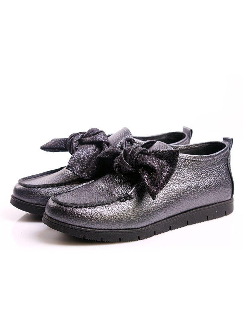Туфли серебристые | 4382329