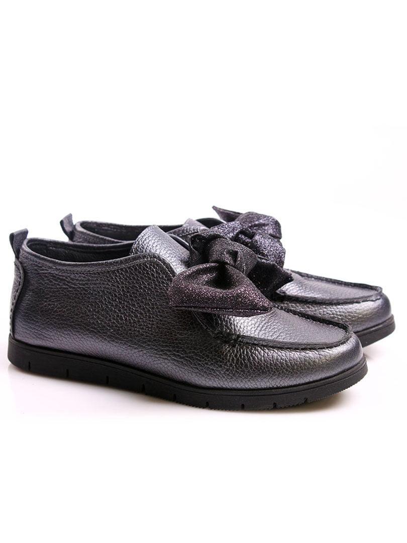 Туфли серебристые | 4382329 | фото 2