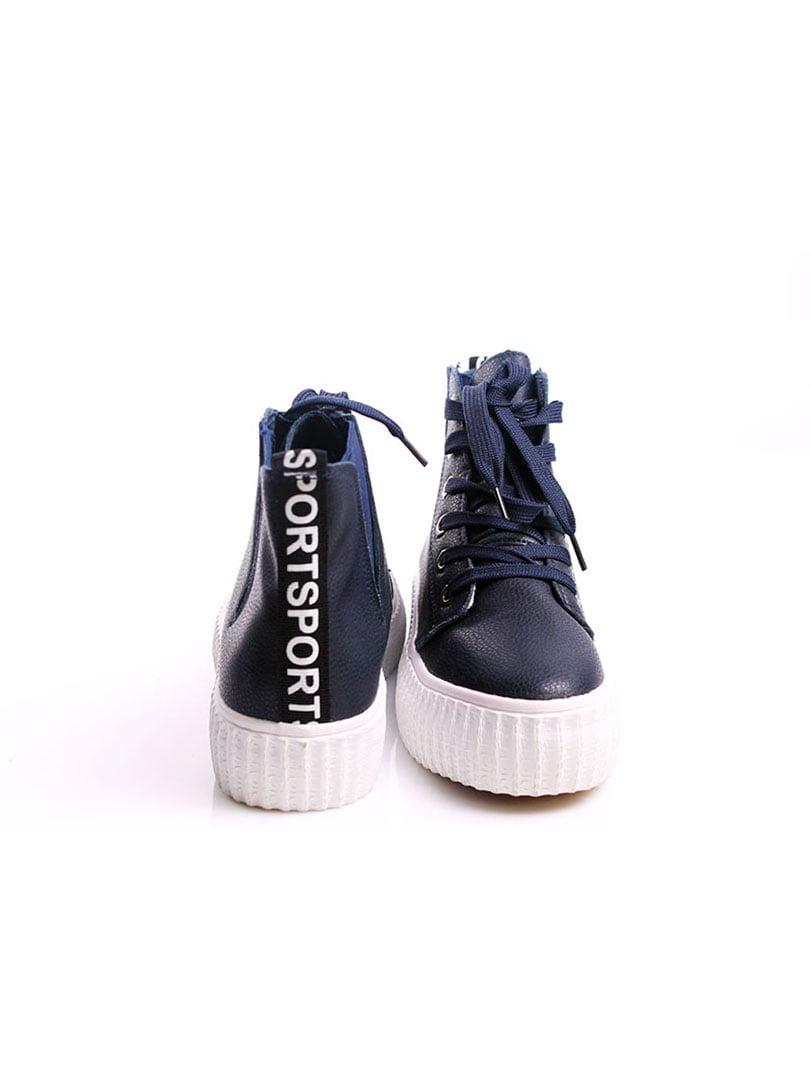 Кроссовки синие | 4382368 | фото 3