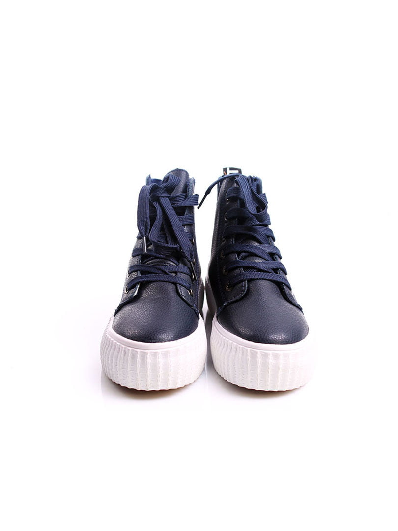 Кроссовки синие | 4382368 | фото 4