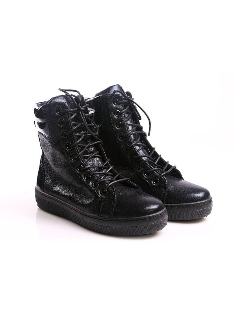 Ботинки черные | 4382373 | фото 2