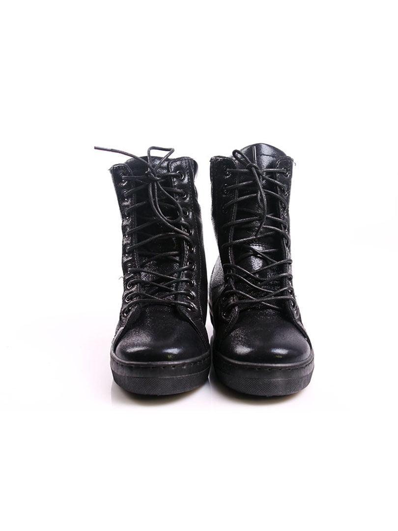 Ботинки черные | 4382373 | фото 4