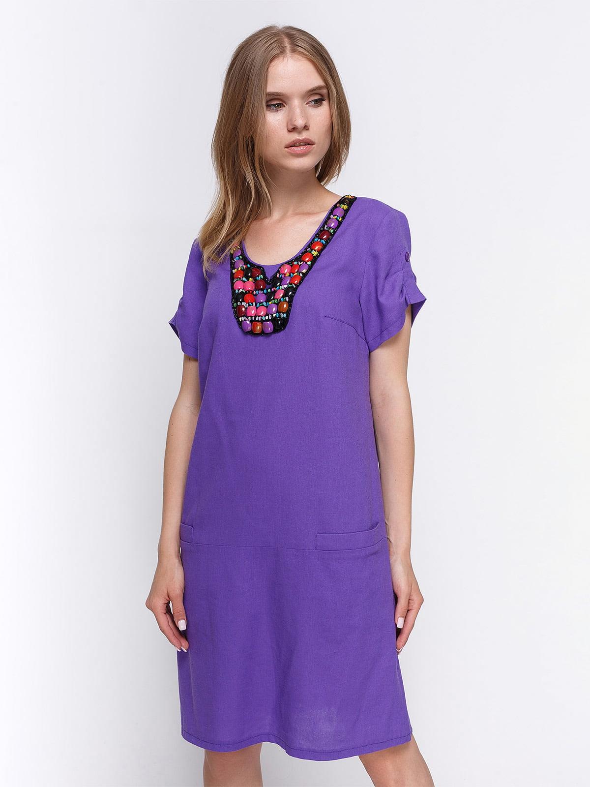 Сукня фіолетова | 4358678
