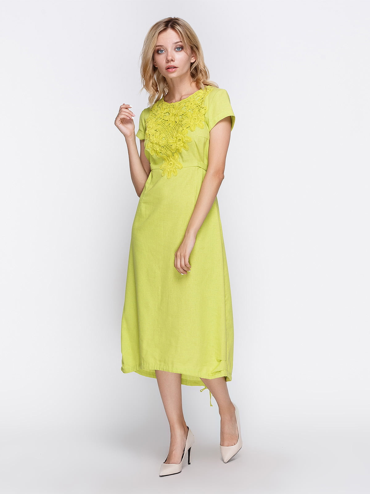 Сукня салатова   4358657