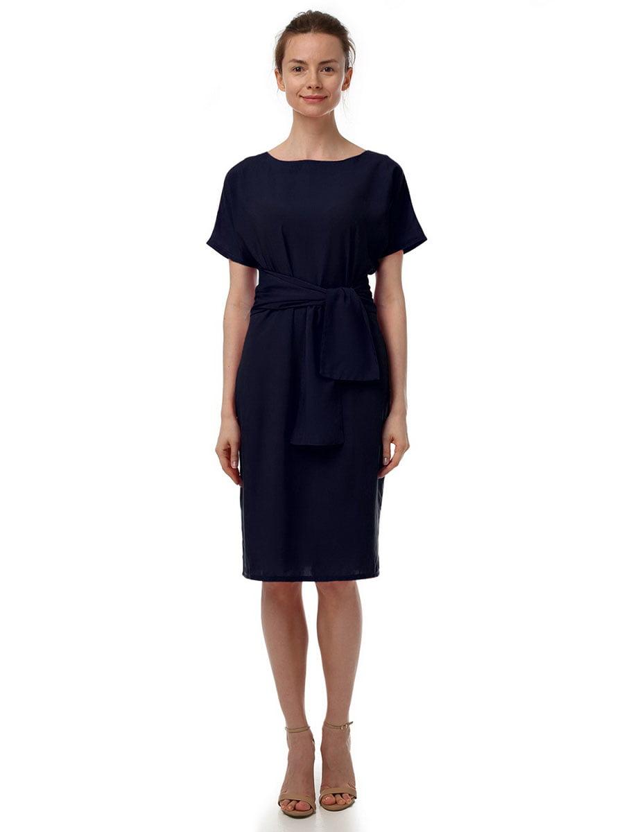 Платье темно-синее | 4367615