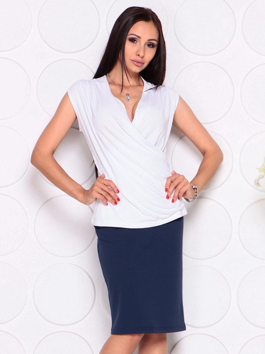 Блуза белая | 4382771 | фото 3